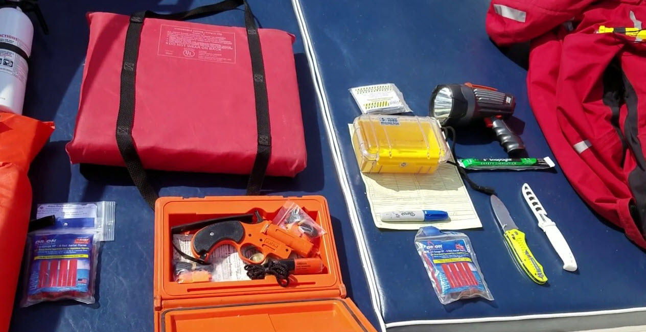 image of some boating safety equipment