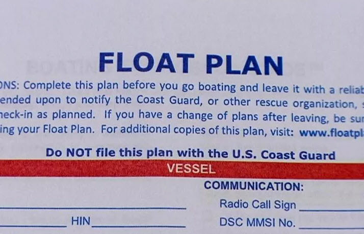 float plans are essential for boating safety