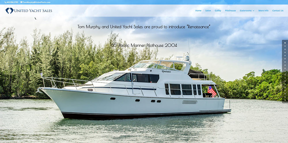 photo of the Pacific Mariner Pilothouse 2004 Renaissance