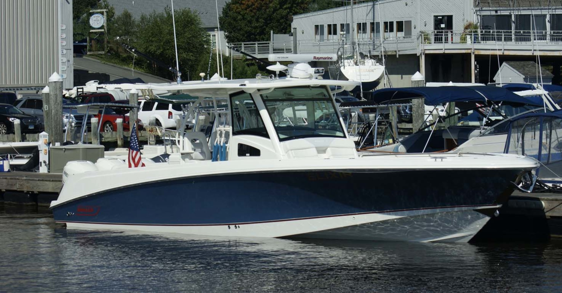 boston whaler for sale newport boat show