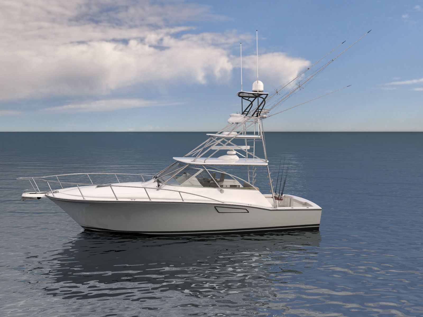 Cabo Yachts 41 at Palm Beach Boat Show