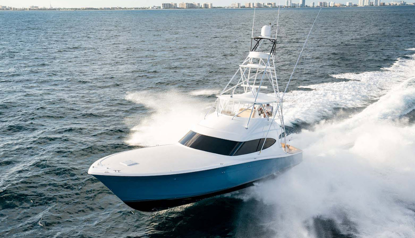 Hatteras GT59 Palm Beach Boat Show