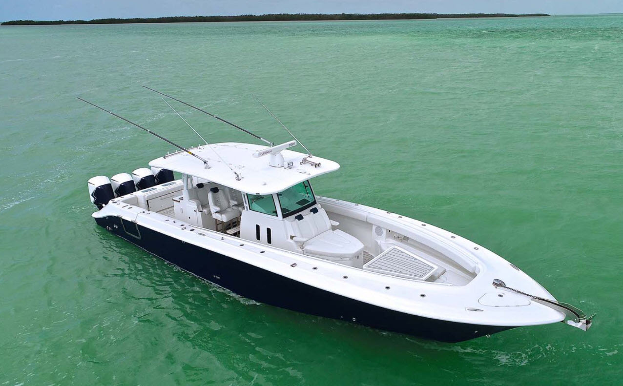 HCB Yachts 42 Siesta Center Console