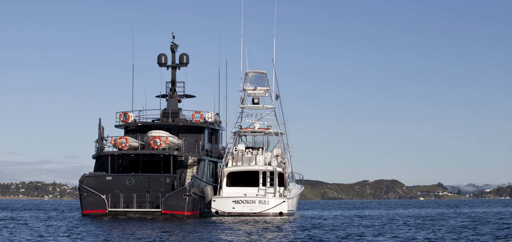 Pacific HQ Yacht and Hookin Bull sportfish