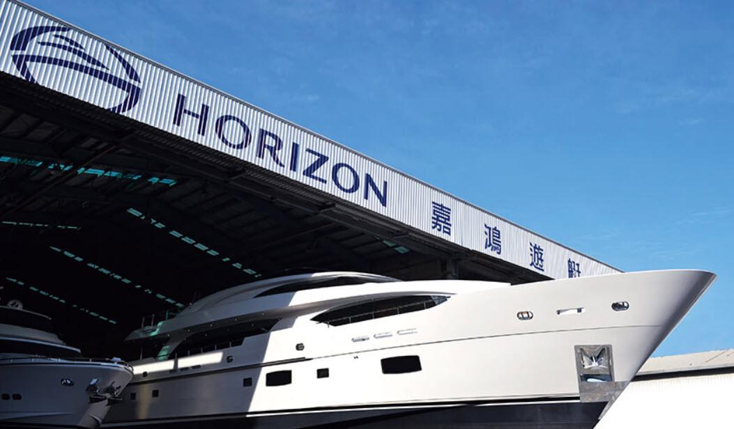 The Horizon Yachts Shipyard