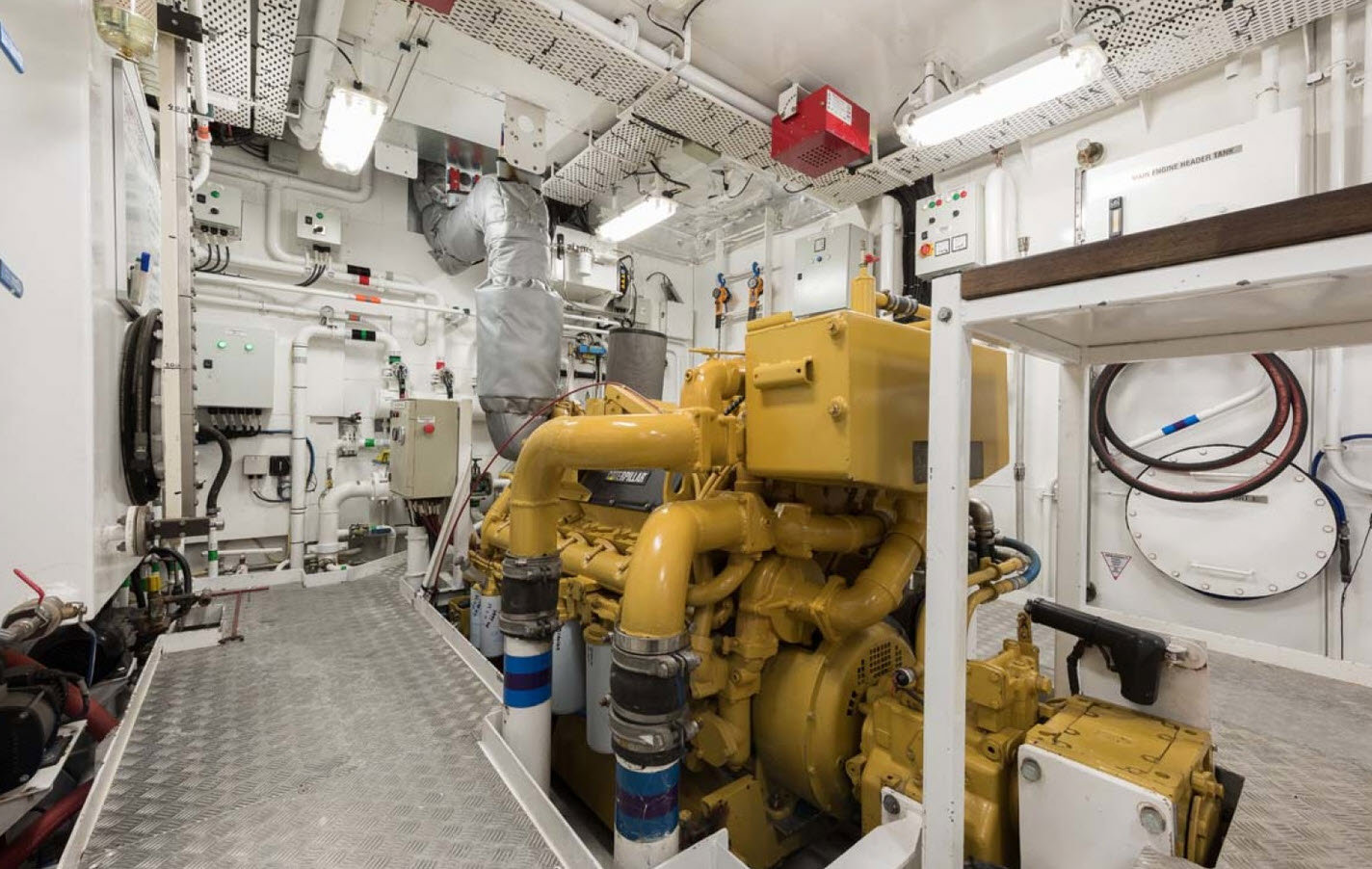 Pacific HQ Engine Room