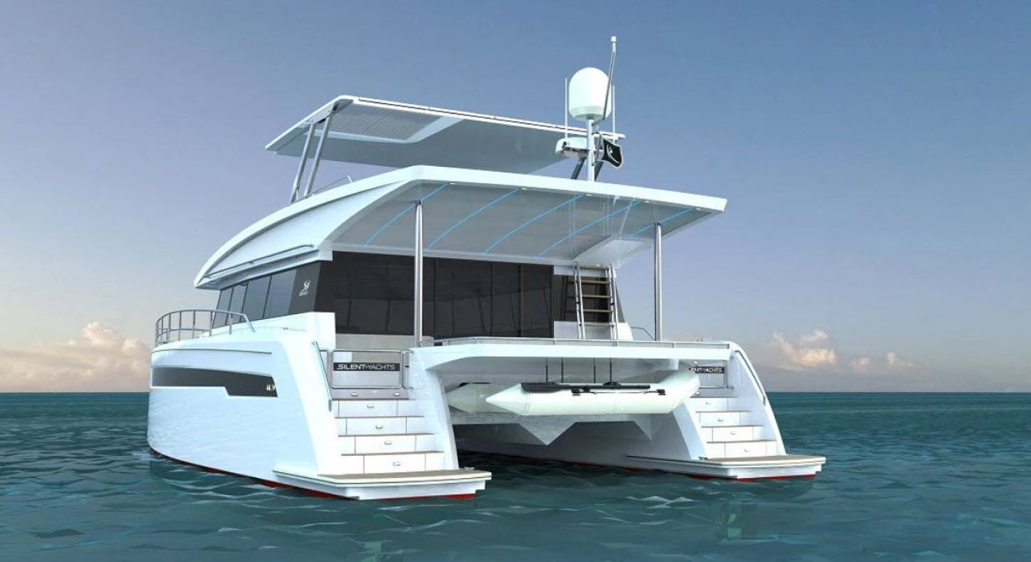 silent yachts 44 power catamaran