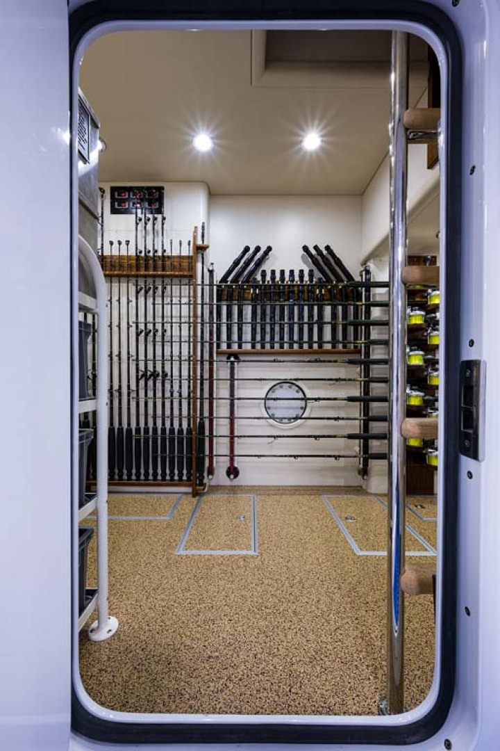 Tackle and Storage Room