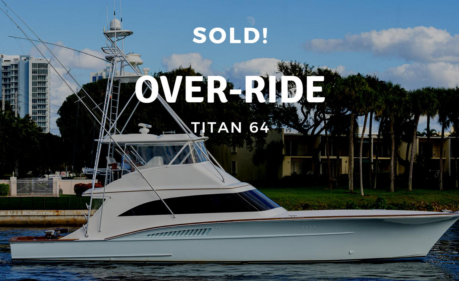 photo of Titan 64 Custom Sportfish Sold By United Yacht Sales