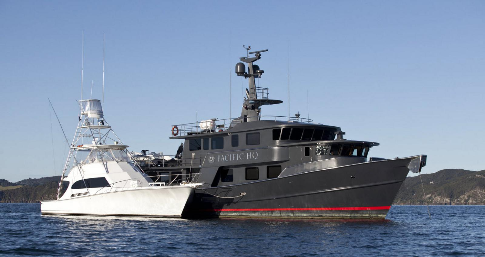 Pacific HQ Is The Ultimate Mother-Ship Yacht For Adventure