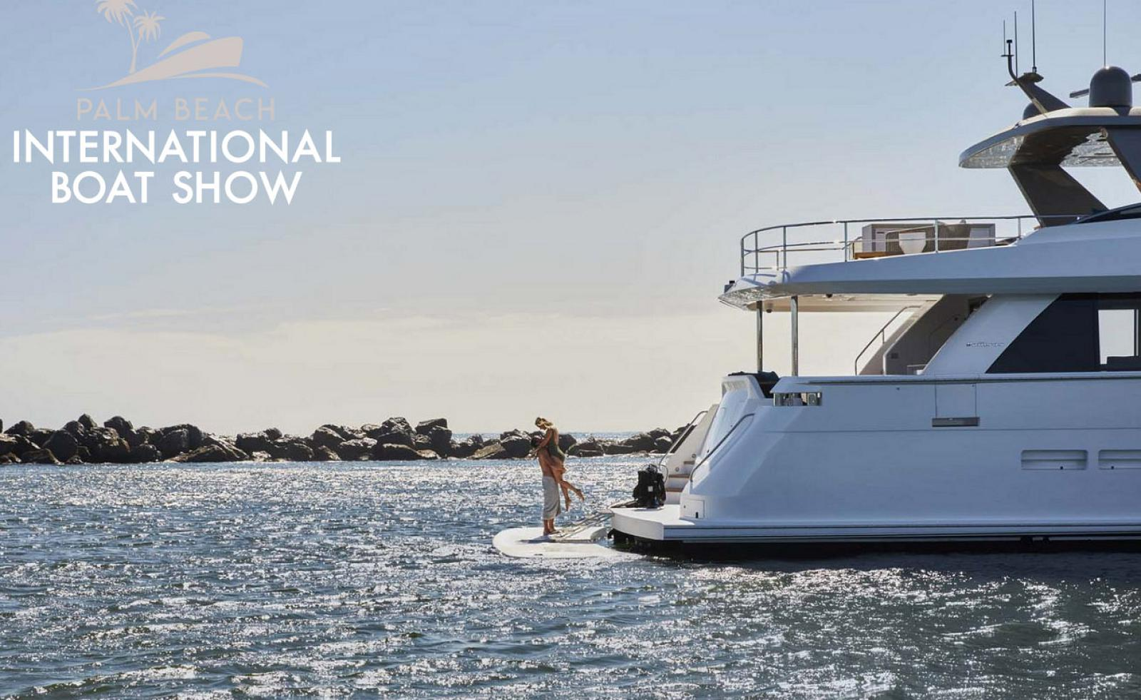photo of Hatteras And Cabo Yachts Featured At The Palm Beach Boat Show