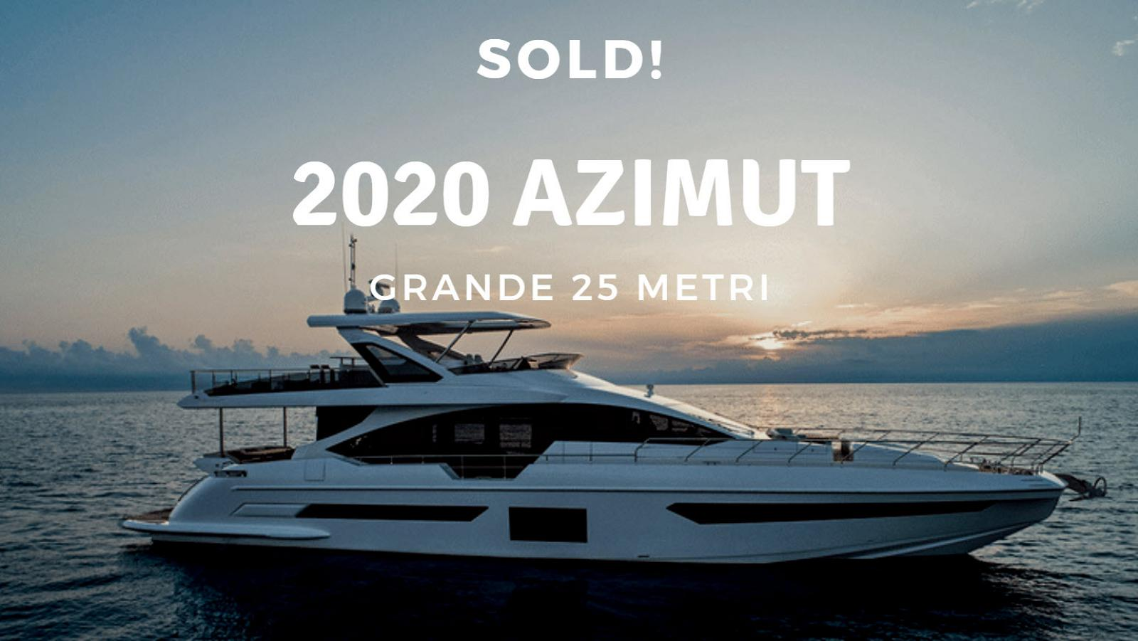 photo of Azimut Yachts Grande 25 Metri Sold By United Yacht Sales