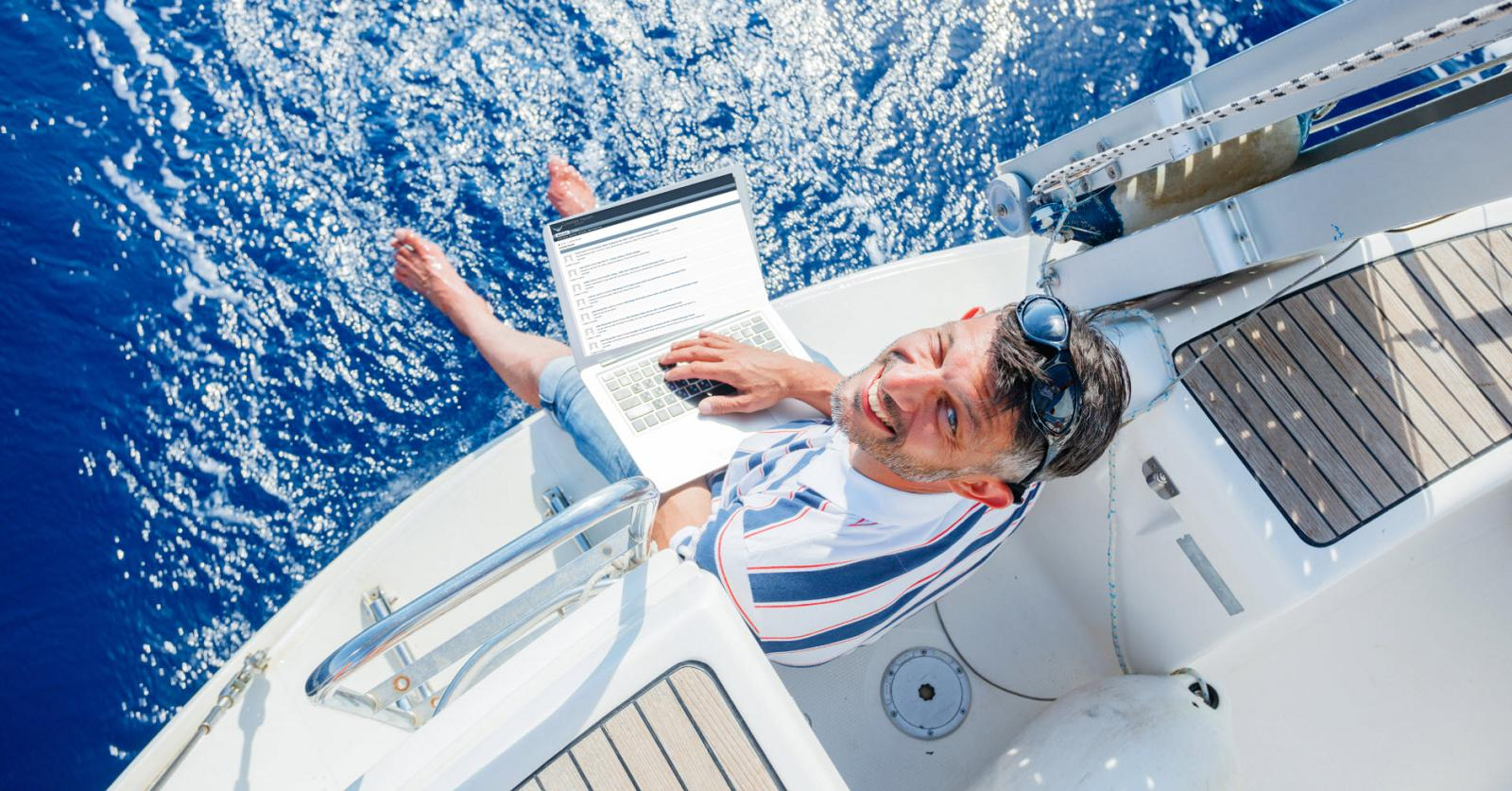 photo for article United's Proprietary Yacht Broker Forum Helps Sell Your Boat Fast