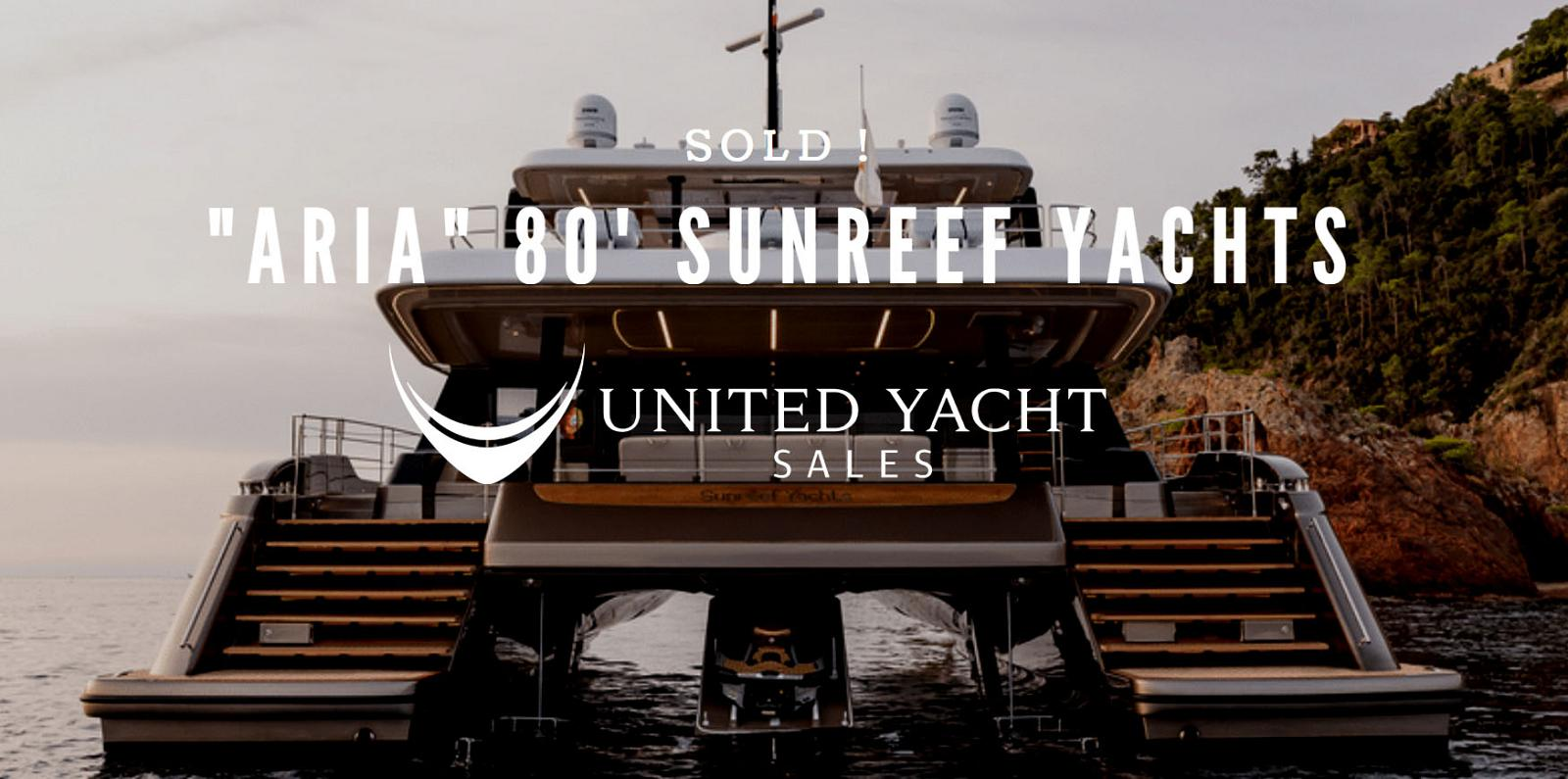 photo of Sunreef Yachts 80 Power Catamaran Sold By Anthony Barton