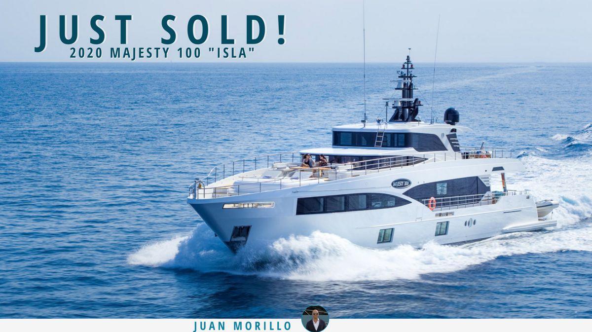 photo of Majesty 100 Luxury Motor Yacht ISLA Sold By United Yacht Sales