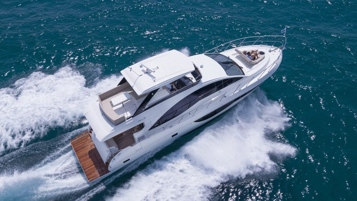 photo of Major Factory Incentives On 63 Flybridge Boat Show Demo