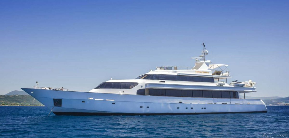 photo of Carmen Fontana, a 140' Custom-Built Superyacht Is Now Available For Sale