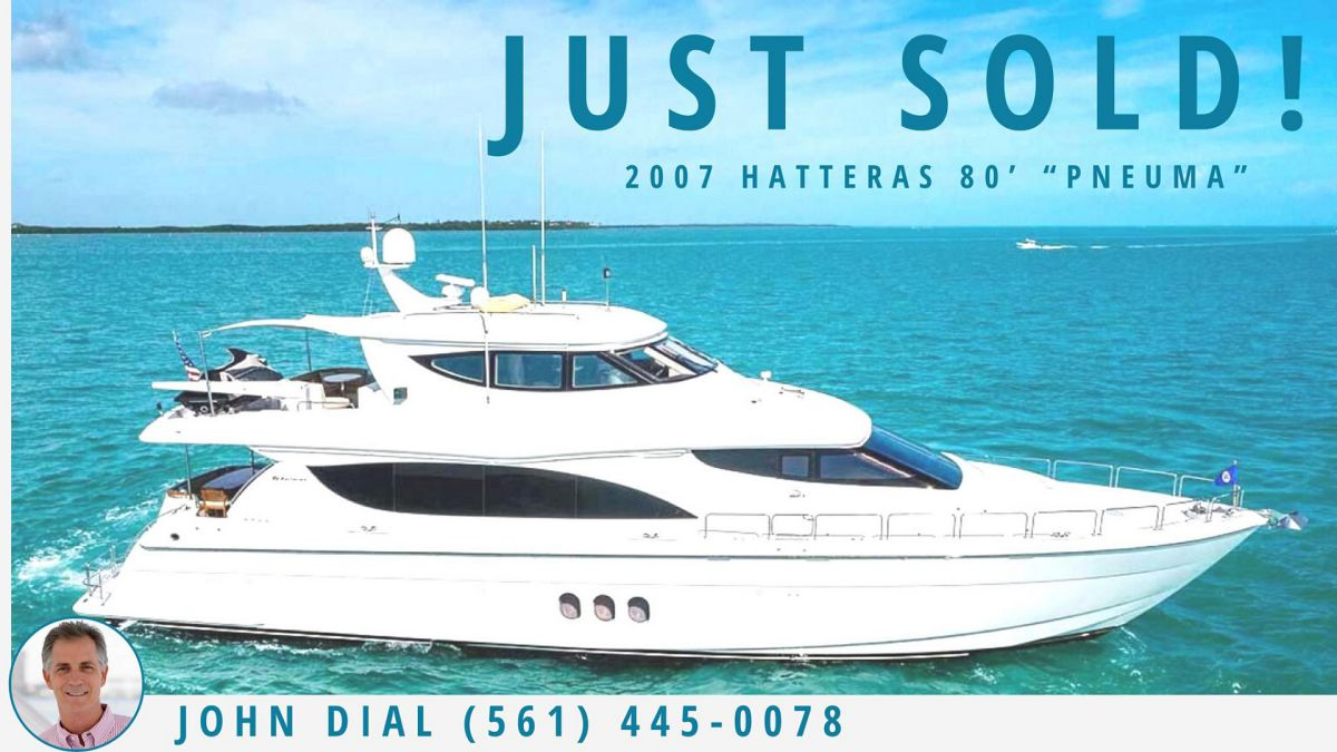 photo of Hatteras 80 MY Sold By United Yacht Sales