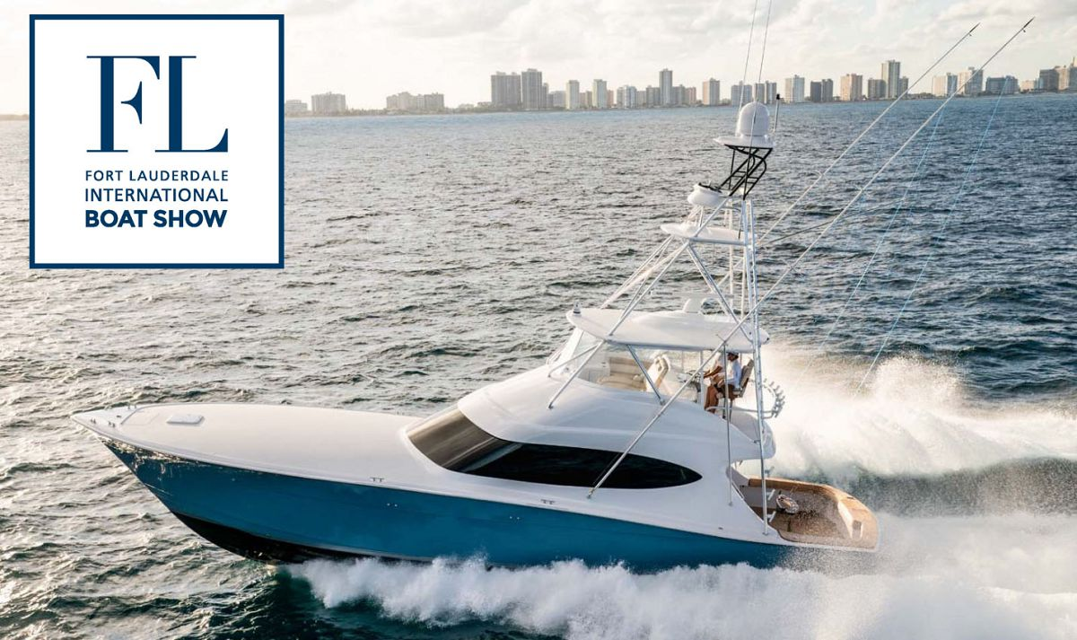 photo of Hatteras Yachts On Display At The 2019 Fort Lauderdale Boat Show