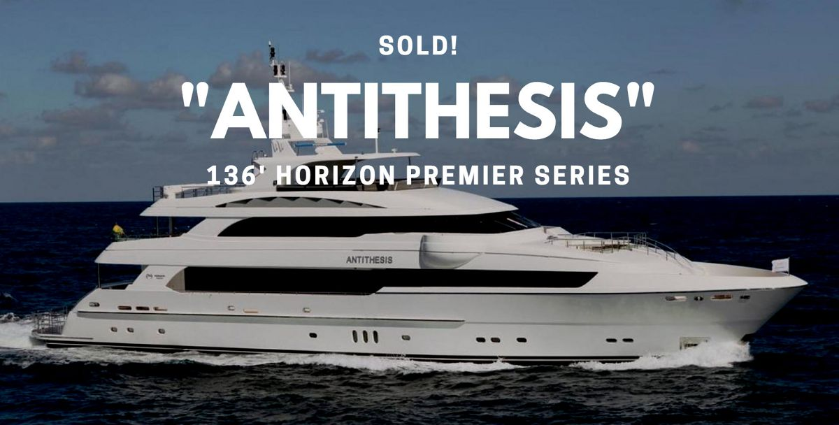 photo of Horizon 136' Motor Yacht Antithesis Sold By United Broker Greg Graham