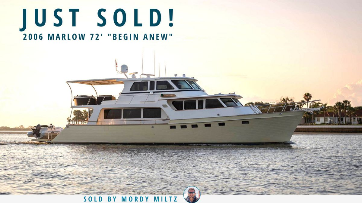 photo of Marlow 72 Explorer Sold By United Yacht Sales