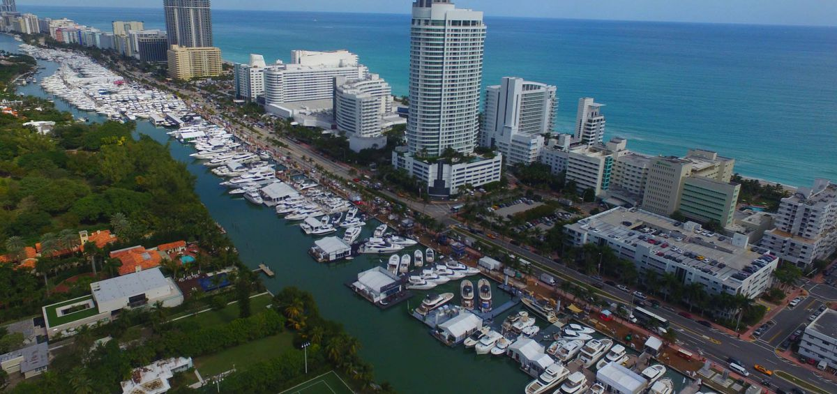 photo of The Miami Yacht Show On Biscayne Bay