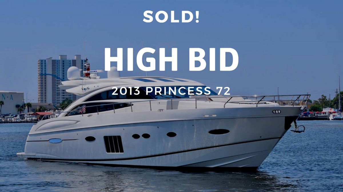 photo of Princess Yachts V72 Sold By United Yacht Sales Broker Matt Condon
