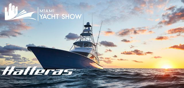 photo of Hatteras Yachts Featured At The Miami Yacht Show