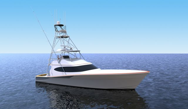 photo of New Renderings And A Look Inside The New Hatteras GT65 Carolina