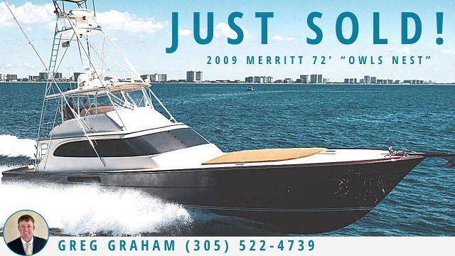 photo of Merritt 72 Sportfish OWLS NEST Sold By United Yacht Sales