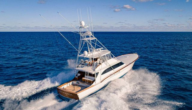 photo of No Agenda - Rybovich 73 Custom Sportfish Now Listed With United Yacht Sales
