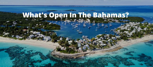 photo of What's Open For Your Bahamas Yacht Charter?