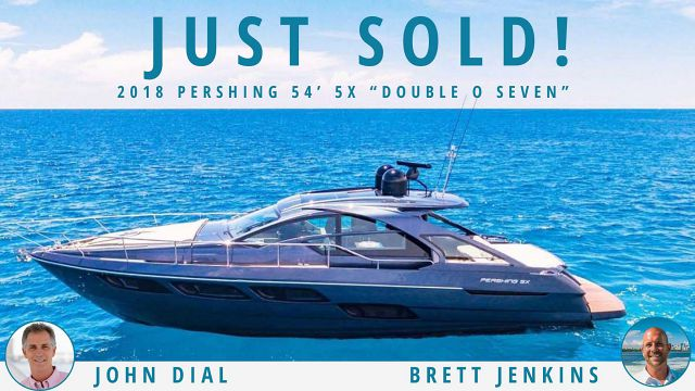photo of Pershing Yachts 54 Sold By United Yacht Sales