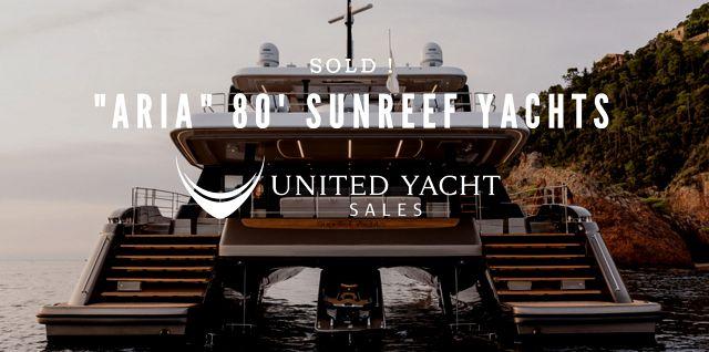 photo of Sunreef Yachts 80 Power Catamaran Sold By Anthony Barton