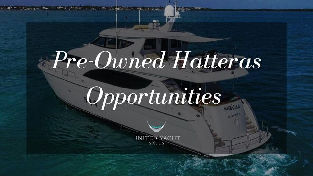 photo of Pre-Owned Hatteras Yachts For Sale In Florida