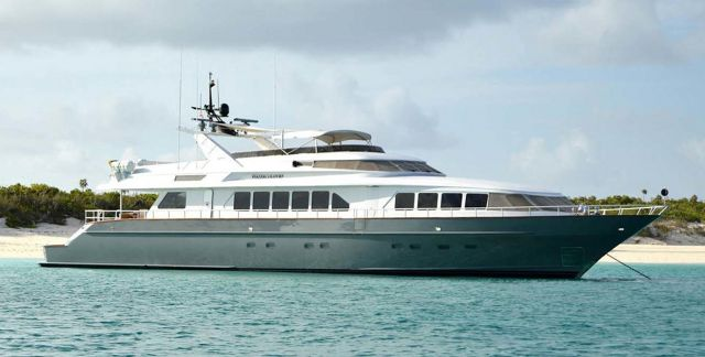 photo of Watercolours Is a Trinity 115 Motor Yacht Just Listed With United