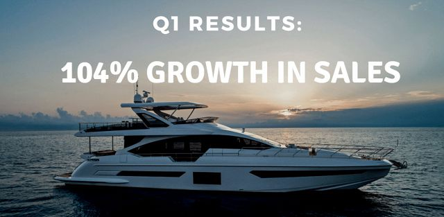 photo of United Yacht Sales Reports Double-Digit Increase In 2nd Quarter