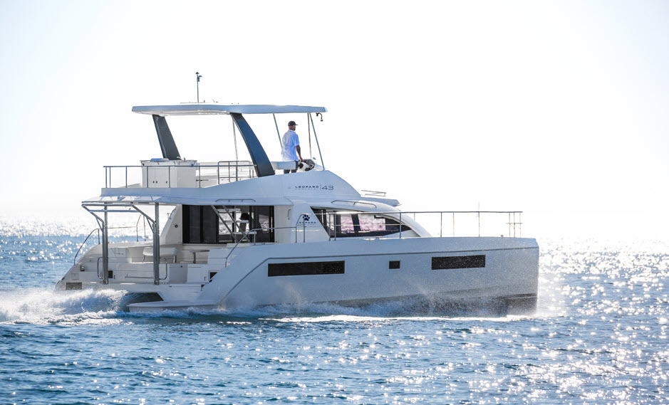 leopard power catamarans