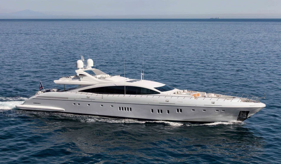 mangusta yachts for sale