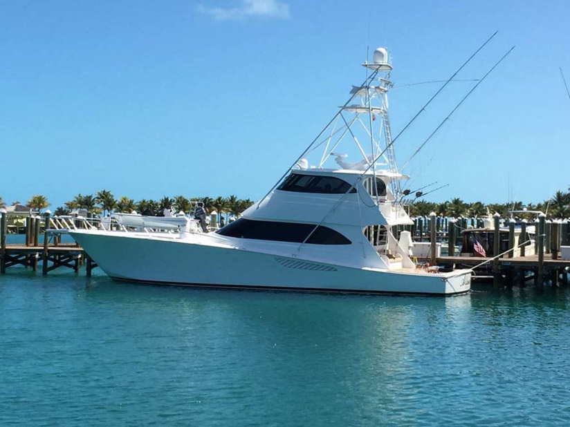 Used Viking 70 Enclosed Bridge For Sale