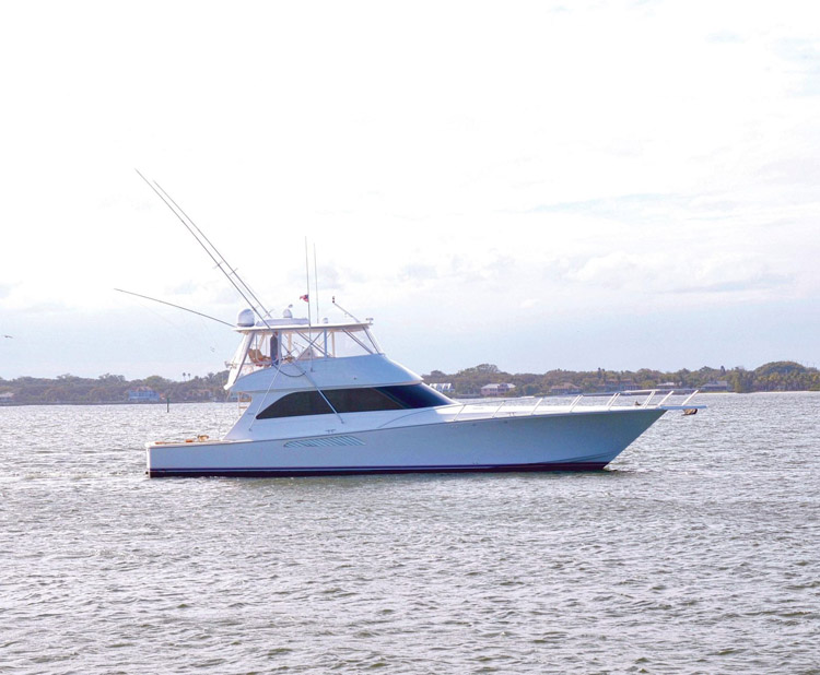 Used Viking 64 Convertible For Sale
