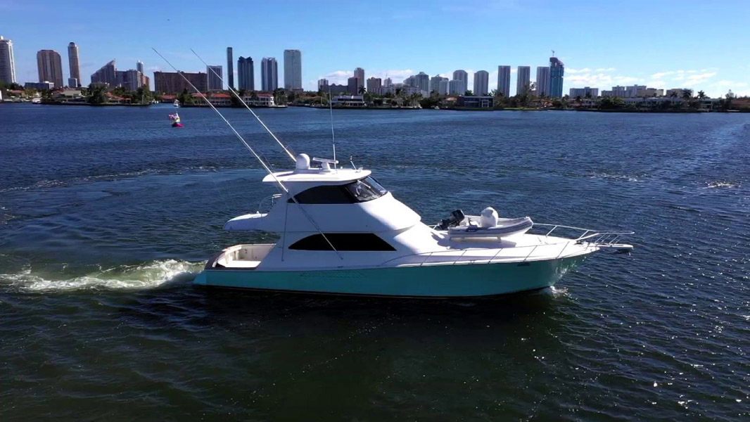 Used Viking 60 Enclosed Bridge For Sale