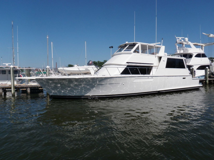 Used Viking 60 Cockpit Motor Yacht For Sale