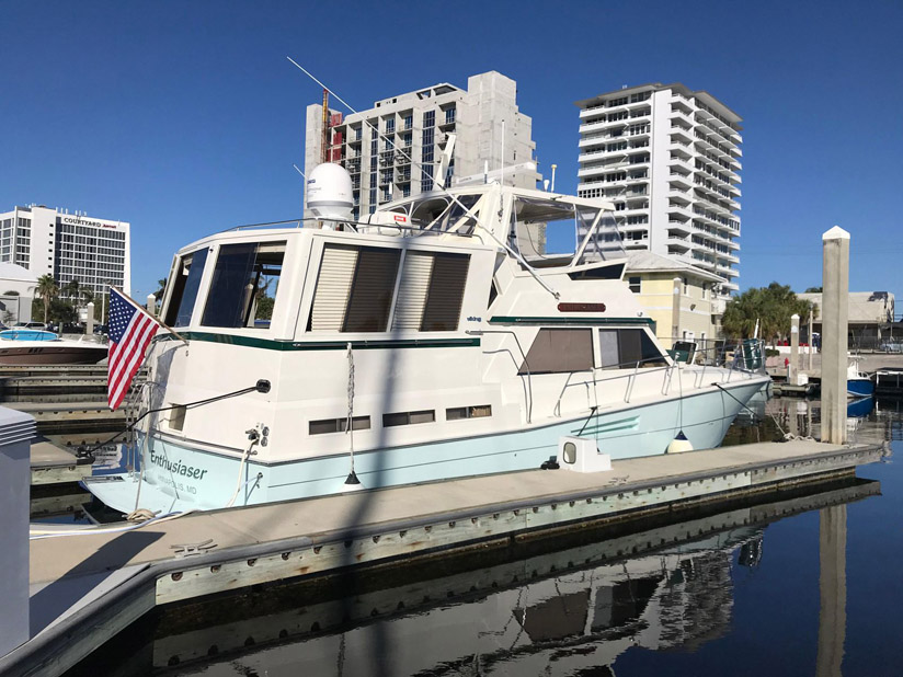 Used Viking 48 Motor Yacht For Sale