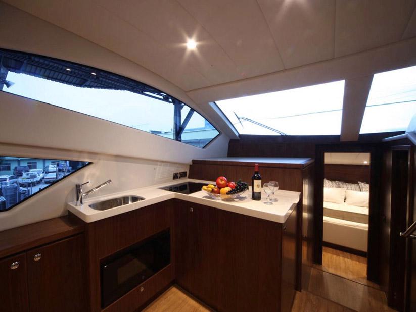 photo of New Mares 45 Yacht Fish Power Catamaran
