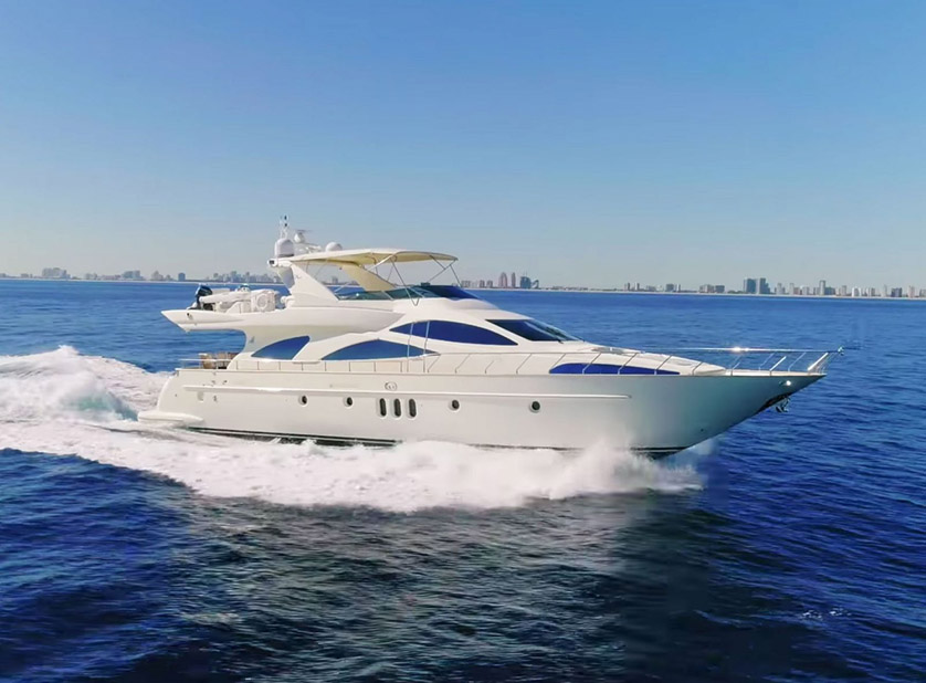 Used Azimut 80 Carat Yacht for sale