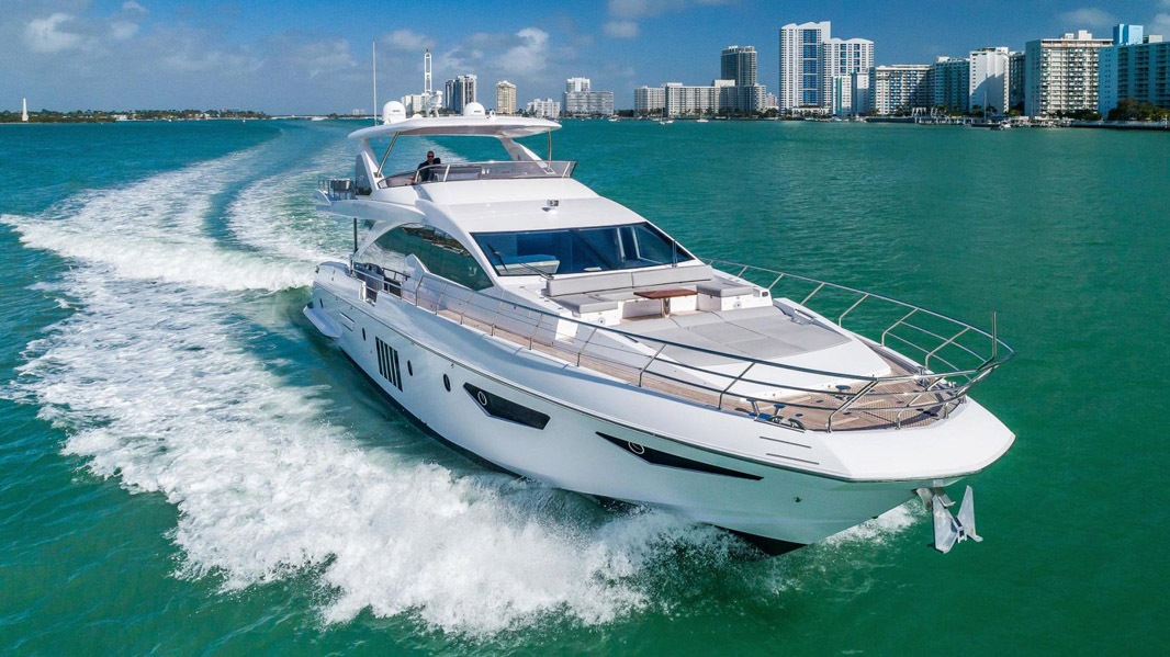 Used Azimut 80 Flybridge Yacht for sale
