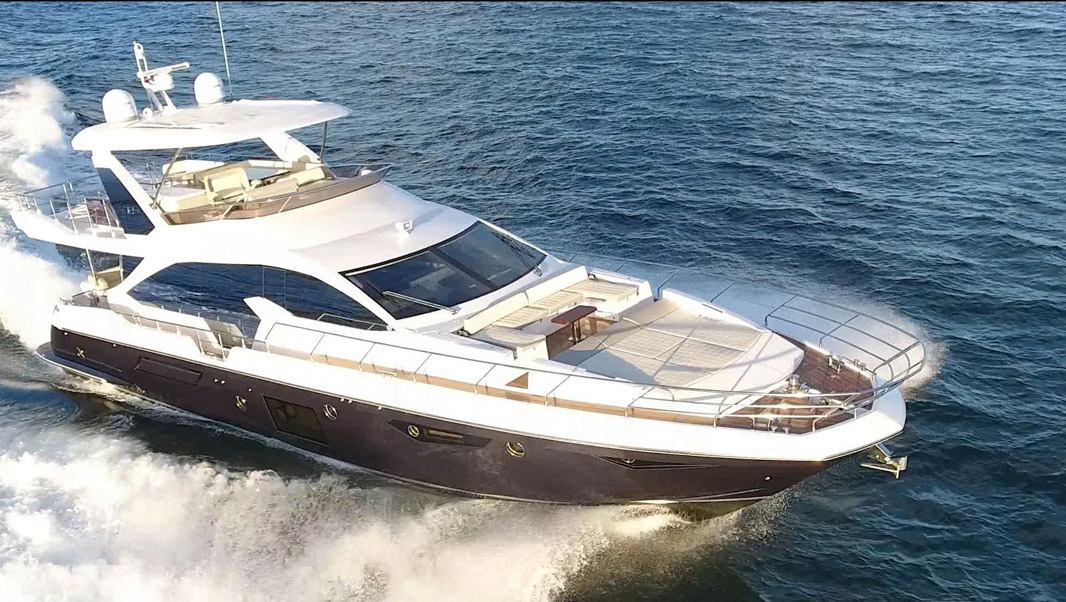 Used Azimut 72 Flybridge Yacht for sale