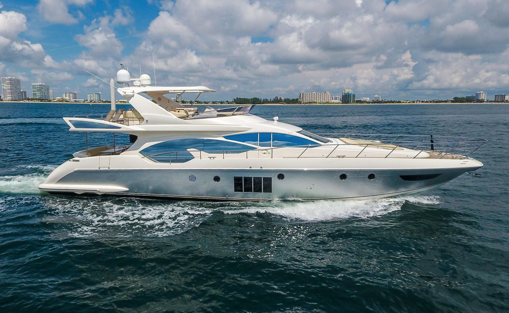 Used Azimut 70 Flybridge Yacht for sale