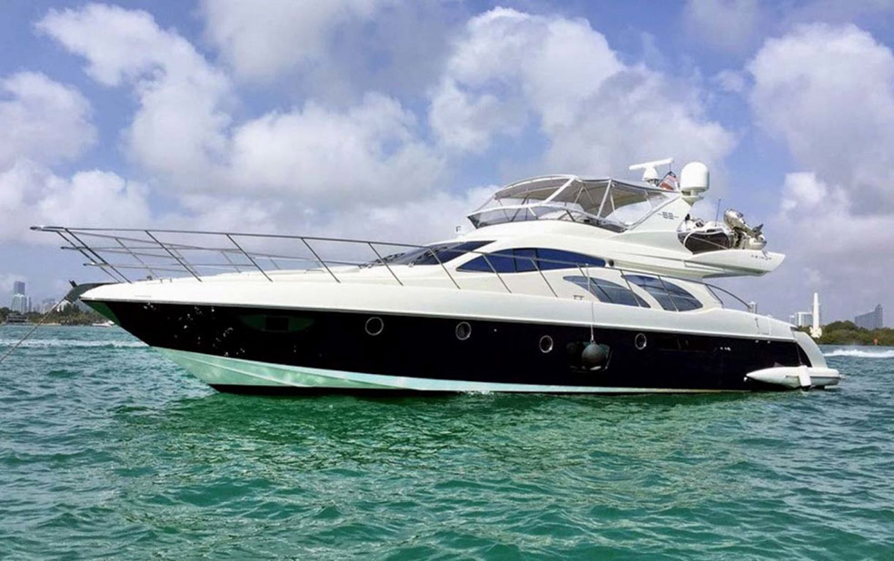 Used Azimut 62 Flybridge Yacht for sale